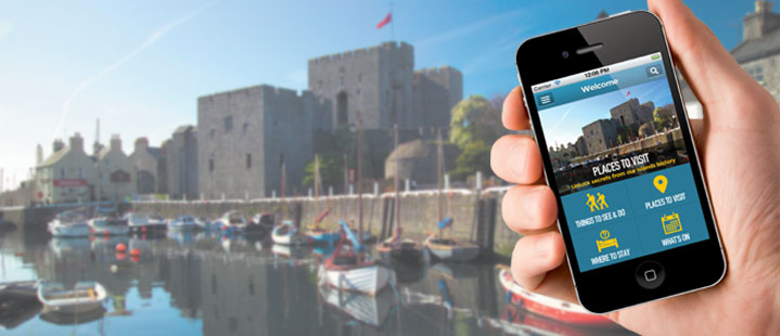 Try the new Isle of Man Visitor Mobile App
