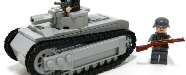 Wehrmacht-captured Renault FT17 SD.KFZ 17/18R (f) (MY 30th AFV!!!)